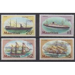 Maurice - 1980 - No 506/509 - Navigation