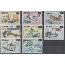 Zaïre - 1985 - No 1186/1193 - Avions