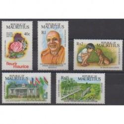 Maurice - 1992 - Nb 781/785