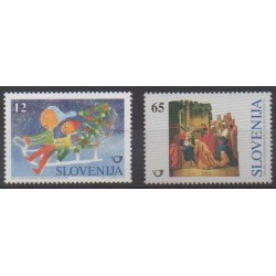 Slovenia - 1996 - Nb 162/163 - Christmas