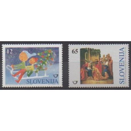 Slovenia - 1996 - Nb 162/163 - Christmas
