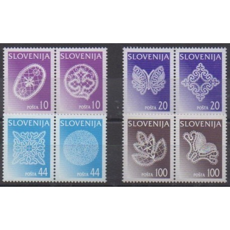 Slovenia - 1997 - Nb 187/194 - Craft