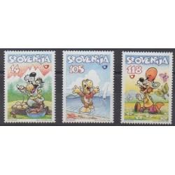 Slovenia - 1998 - Nb 207/209 - Cartoons - Comics