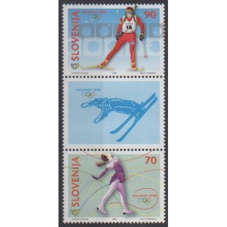Slovenia - 1998 - Nb 200/201 - Winter Olympics
