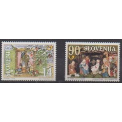 Slovenia - 1997 - Nb 197/198 - Christmas