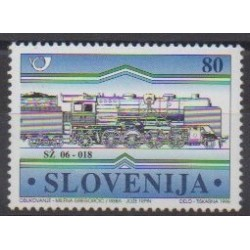 Slovenia - 1998 - Nb 211 - Trains
