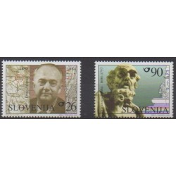 Slovenia - 1998 - Nb 205/206 - Celebrities