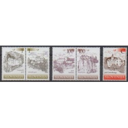 Slovenia - 2005 - Nb 504/508 - Castles