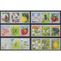 Slovenia - 2005 - Nb 509/526 - Insects - Fruits or vegetables
