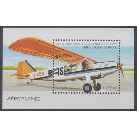 Guinée - 1995 - No BF 111 - Avions