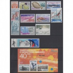 French Southern Territories - Complete year - 1995 - Nb 194/202 - PA134/PA136 - BF2