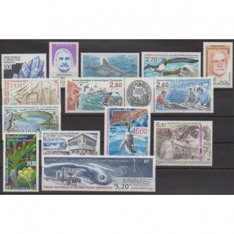 French Southern Territories - Complete year - 1998 - Nb 226/234 - PA146/PA150