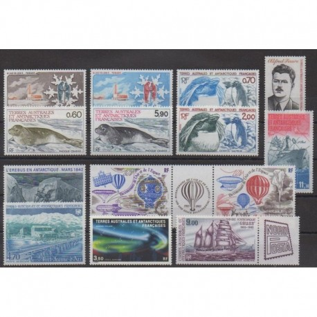 French Southern Territories - Complete year - 1984 - Nb 102/108 - PA79/PA85