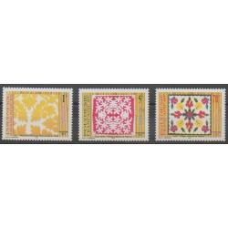 Polynesia - 1997 - Nb 528/530 - Craft