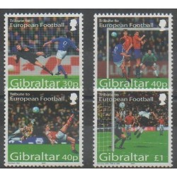 Gibraltar - 2004 - Nb 1088/1091 - Football