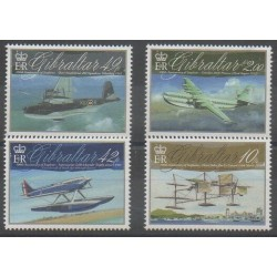 Gibraltar - 2010 - Nb 1387/1390 - Planes