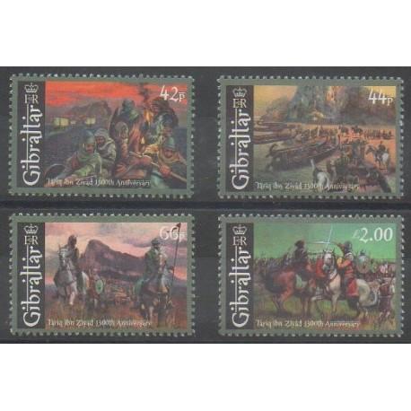Gibraltar - 2011 - Nb 1448/1451 - Military history