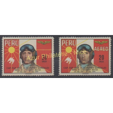 Pérou - 1969 - No 505 - PA 244 - Avions