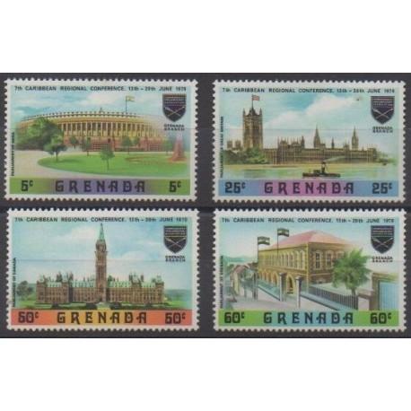 Grenade - 1970 - Nb 344/347 - Monuments
