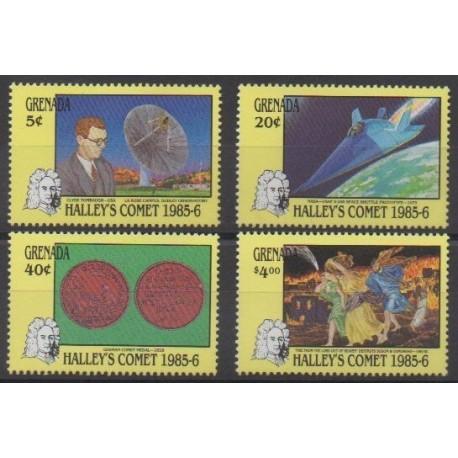 Grenade - 1986 - Nb 1312/1315 - Astronomy