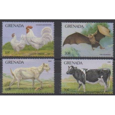 Grenade - 1986 - Nb 1353/1356 - Animals