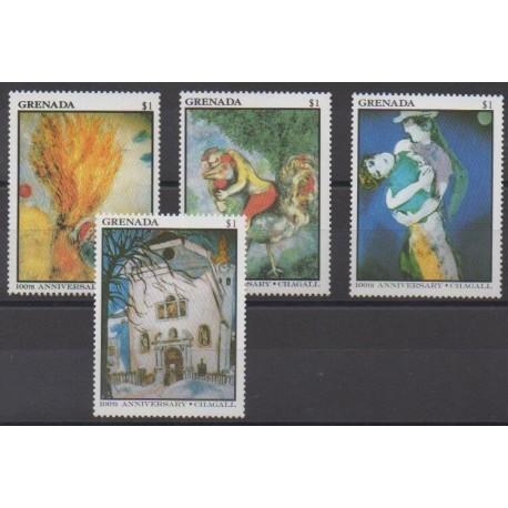 Grenade - 1986 - Nb 1373/1376 - Paintings