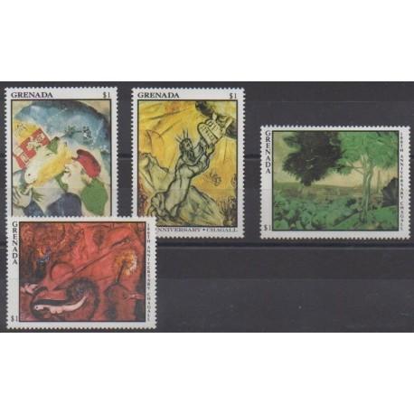 Grenade - 1986 - Nb 1381/1384 - Paintings