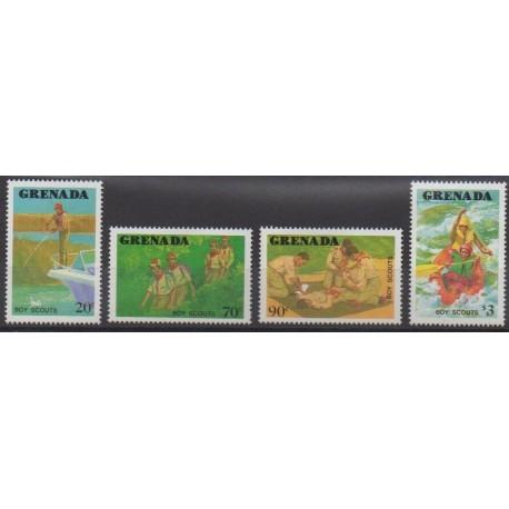 Grenade - 1988 - Nb 1546/1549 - Scouts
