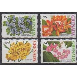Grenade - 1988 - Nb 1617/1620 - Flowers