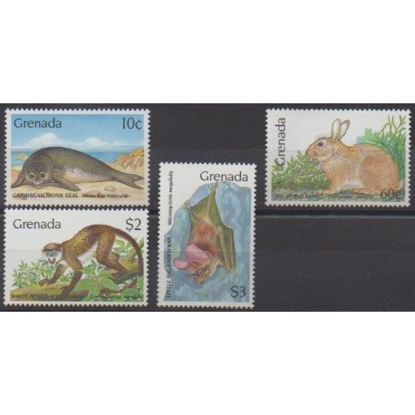 Grenade - 1990 - Nb 1866/1869 - Animals