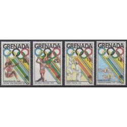 Grenade - 1989 - Nb 1763/1766 - Summer Olympics