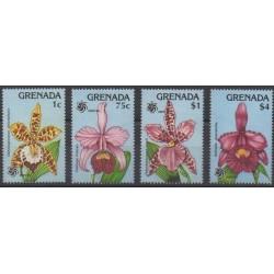 Grenade - 1990 - Nb 1874/1877 - Orchids