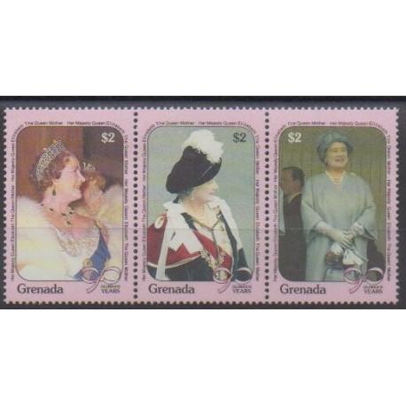 Grenade - 1990 - Nb 1900/1902 - Royalty