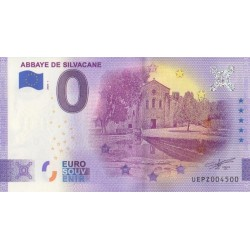 Euro banknote memory - 13 - Abbaye de Silvacane - 2020-1 - Anniversary - Nb 4500