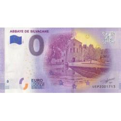 Euro banknote memory - 13 - Abbaye de Silvacane - 2020-1 - Nb 1713