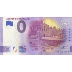 Euro banknote memory - 13 - Abbaye de Silvacane - 2020-1 - Nb 4499
