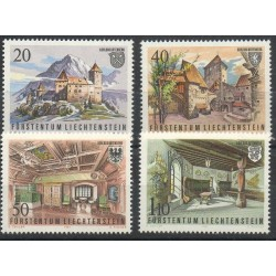 Liechtenstein - 1981- No 721/724 - Monuments