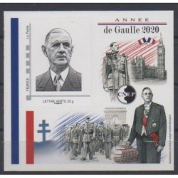 France - CNEP Sheets - 2020 - Nb CNEP 84 - De Gaullle