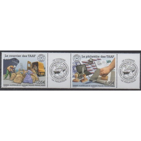 French Southern and Antarctic Territories - Post - 2020 - Nb 933/934 - Postal Service - Philately
