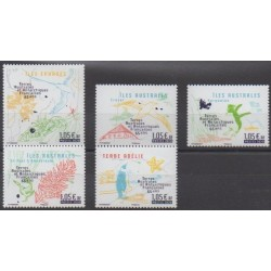 French Southern and Antarctic Territories - Post - 2020 - Nb 935/939 - Sights