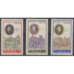 Poland - 1970 - Nb 1863/1865 - Astronomy