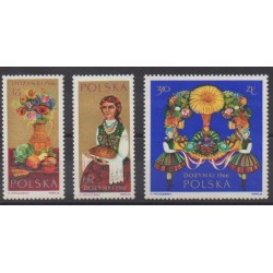 Poland - 1966 - Nb 1543/1545