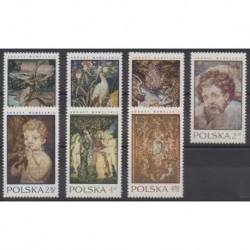 Pologne - 1970 - No 1889/1895 - Art