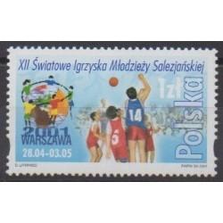 Poland - 2001 - Nb 3655 - Various sports