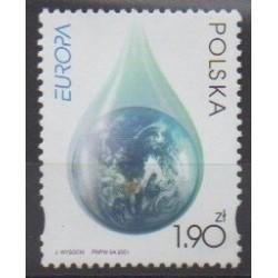 Poland - 2001 - Nb 3656 - Environment - Europa