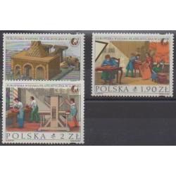 Poland - 2001 - Nb 3678/3680 - Craft - Philately