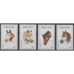 Grenade - 1995 - Nb 2578/2581 - Horses