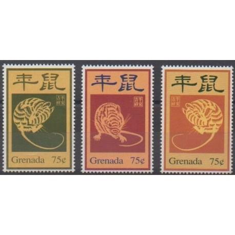 Grenade - 1995 - Nb 2719/2721 - Horoscope