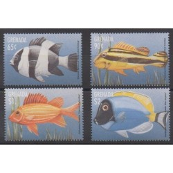 Grenade - 1997 - Nb 3148/3151 - Sea life