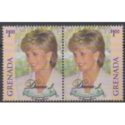 Grenade - 1998 - Nb 3280/3281 - Royalty